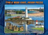 TYNE & WEAR 1000 Piece Jigsaws Puzzle